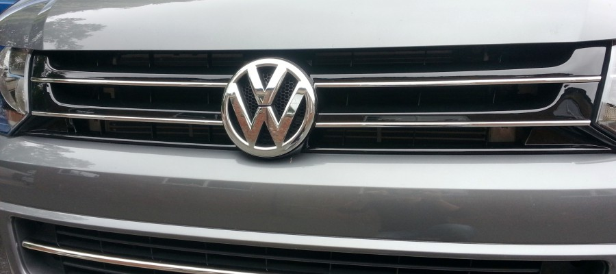 VW T5 Transporter Highline Grille conversion
