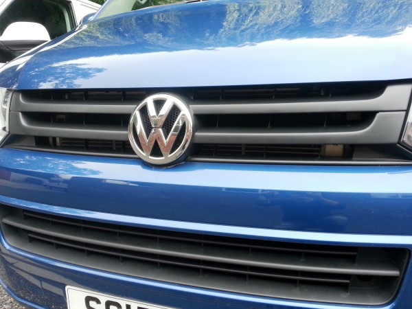 VW T5 Transporter Sportline Grille conversion
