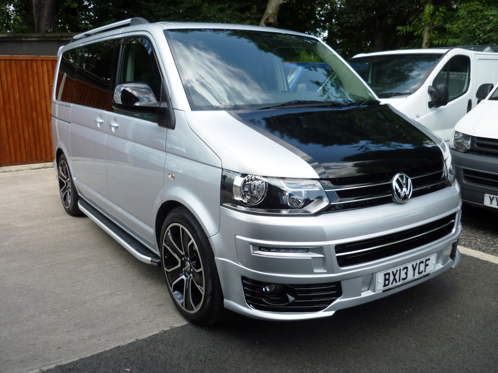 VW T5 Transporter Silver with Big Alloys | Work and Leisure Vehicles ...