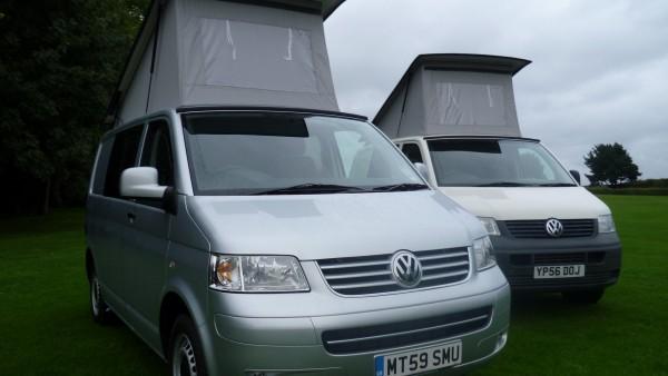 Volkswagen T5 camper van conversion