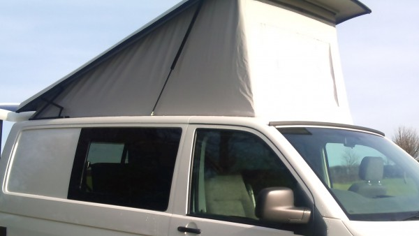 Volkswagen Camper Van elevating roof conversion